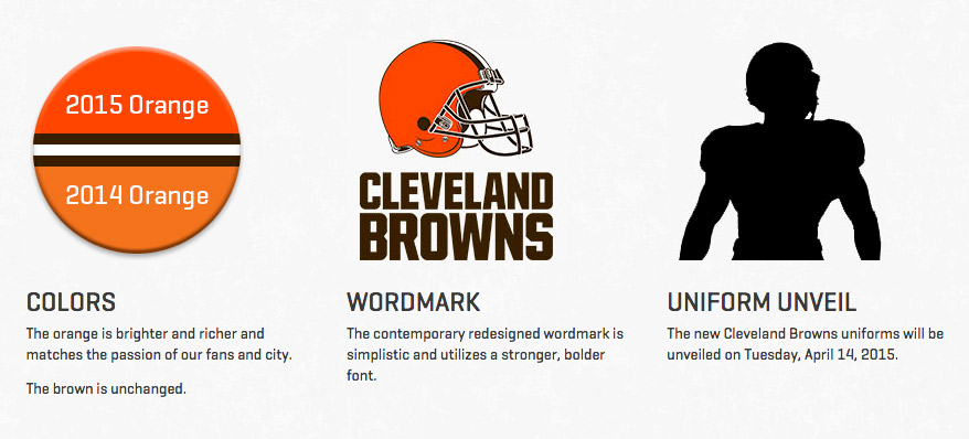 Browns rebrand