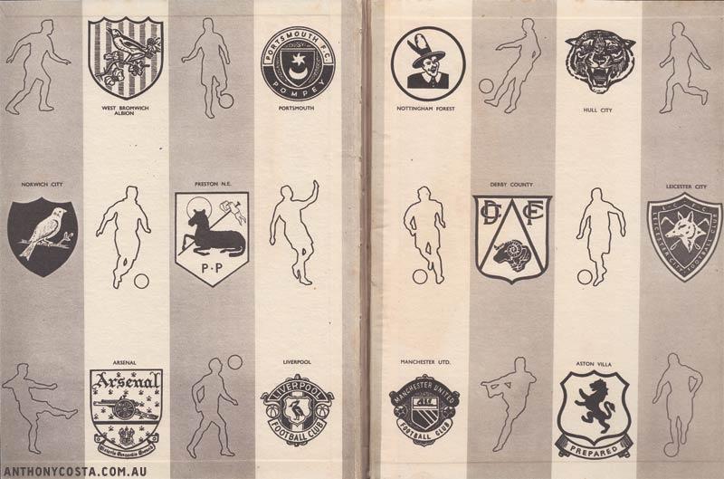 English football logos