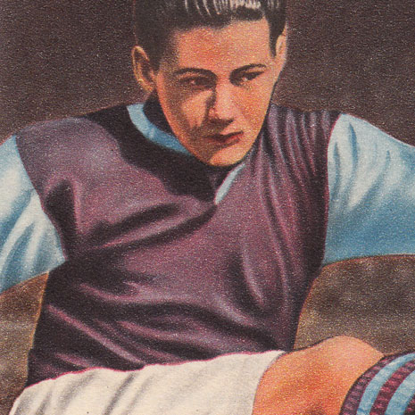 Beautiful English Football Player Art 1950-51