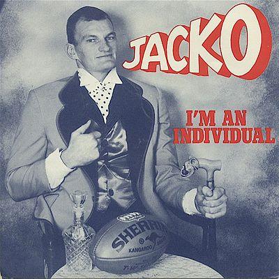 Mark 'Jacko' Jackson's 1985 Footy Logo