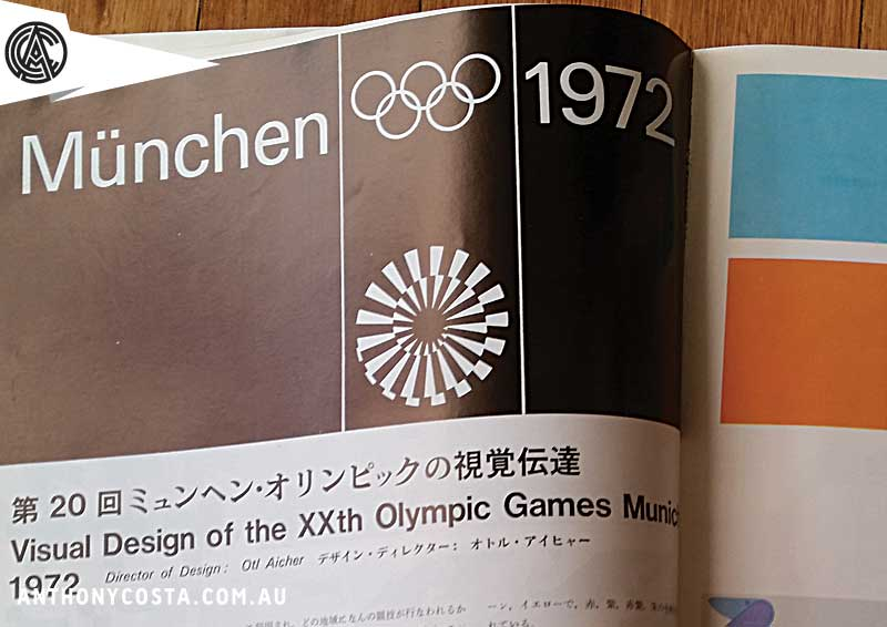 munich 1972 olympics design
