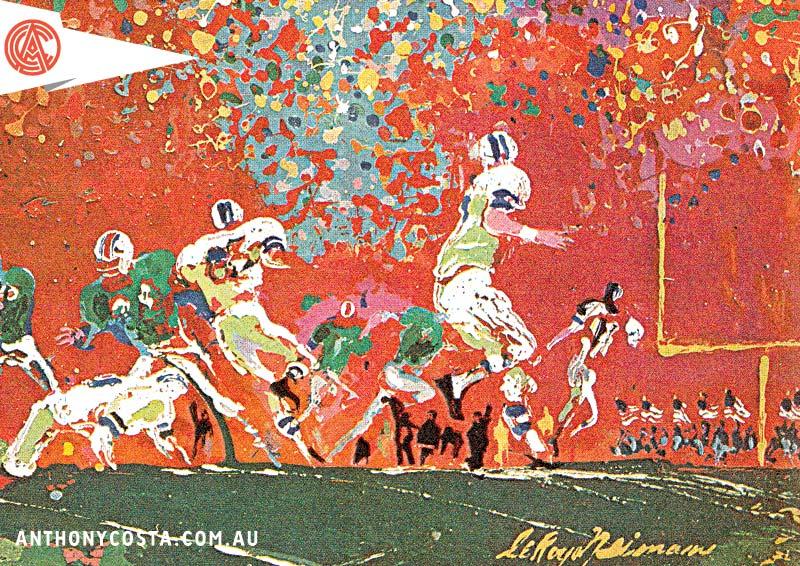 Super Bowl LeRoy Neiman
