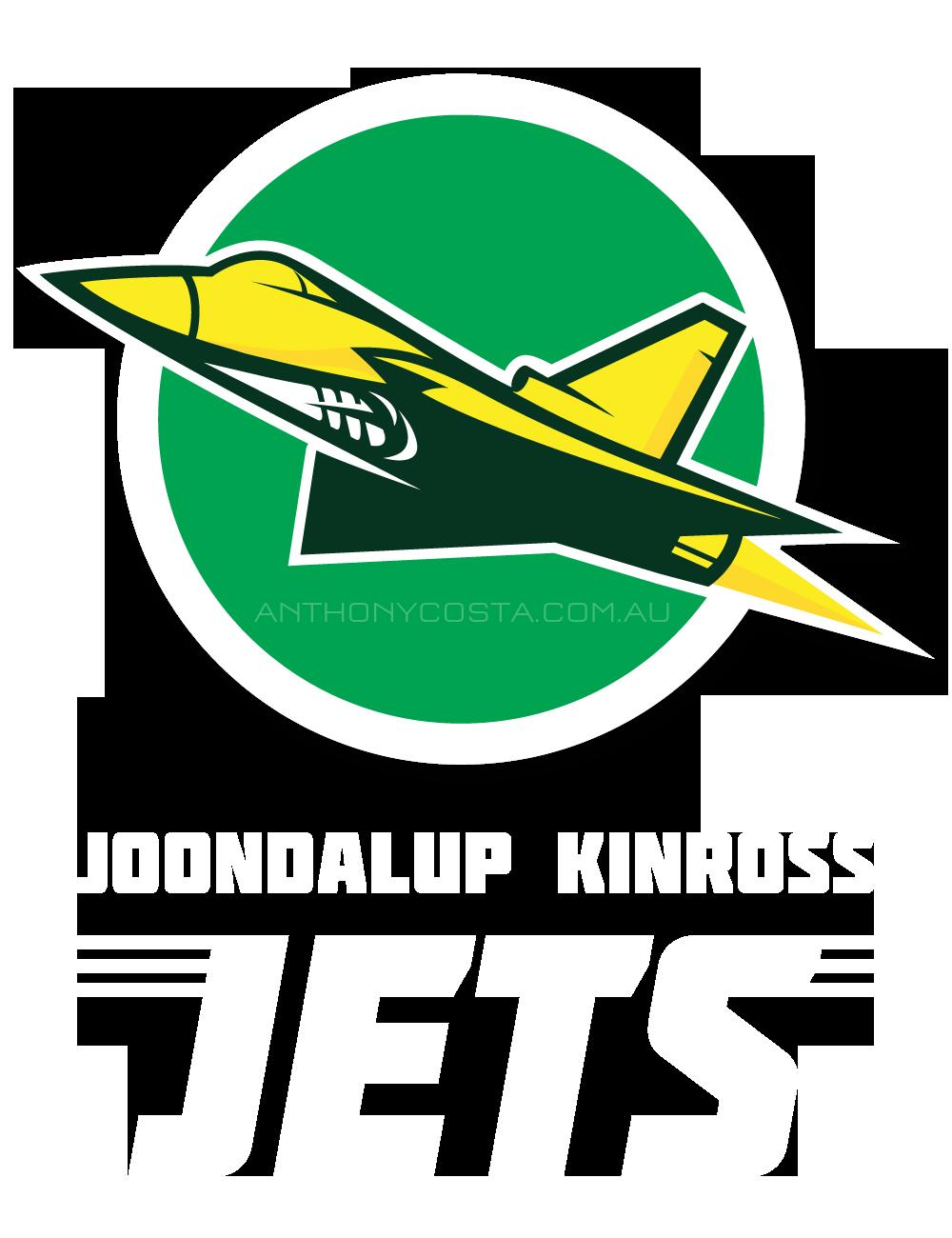 Joondalup Jets AFL sports logo design