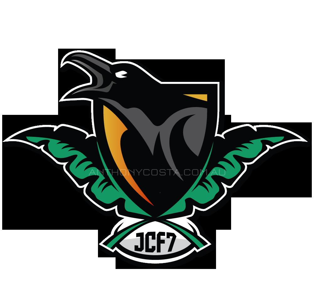 Jungle Crows sports logo design