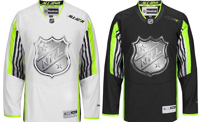 NHL All Star uniform
