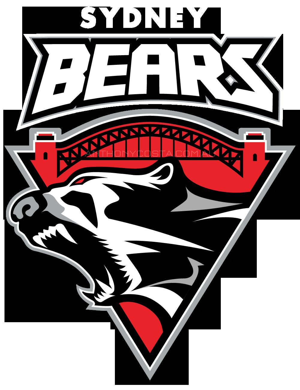 Sydney Bears sports logo design
